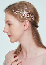 In Stock Pretty Wedding Hair Ornament With Imitation Pearls