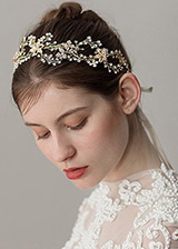 In Stock Junoesque Alloy Wedding Hair Ornament