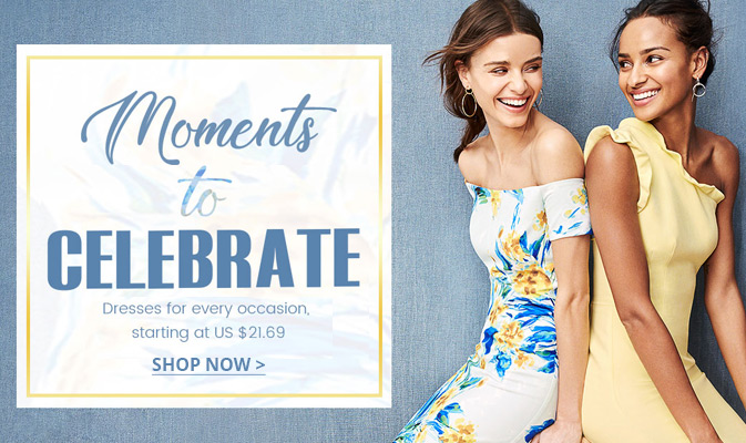 Dresses for Every Occasion, Starting At US $21.69